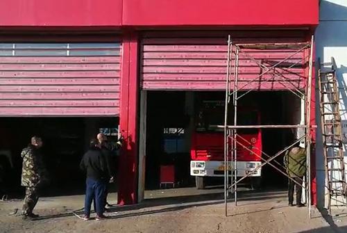 锦州港消防队门